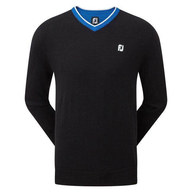 Wool Blend V-Neck Pullover-Förra året Modell