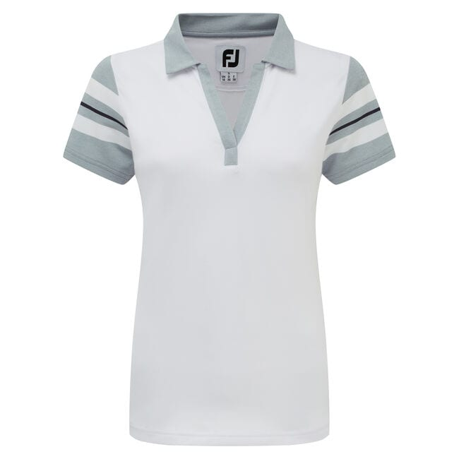 Baby Pique Sleeve Stripe Shirts Dam