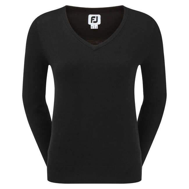 Wool Blend V-Neck Pullover Women