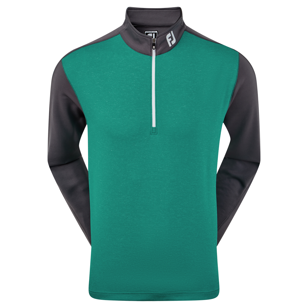 Heather Colour Block Chill-Out Pullover