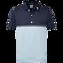 Marine/Bleu clair chiné
