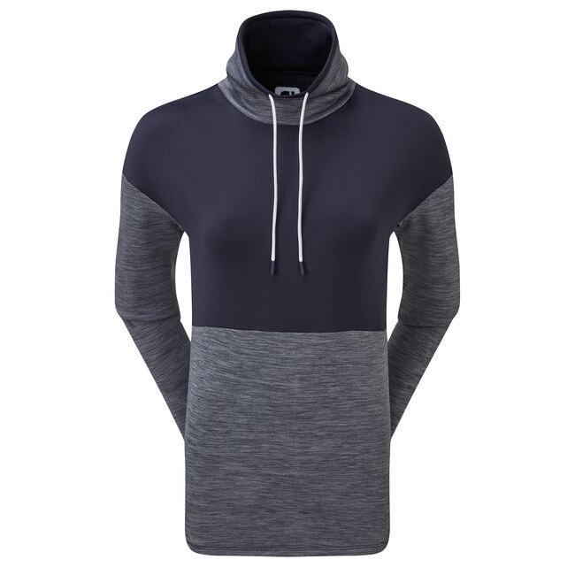 Funnel Collar Fleece Pullover