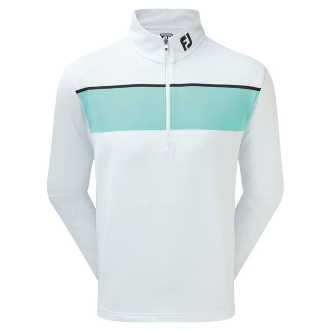 Jersey Chest Stripe Chill-Out Pullover