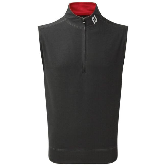 Spun Poly Half-Zip Vest-Förra året Modell