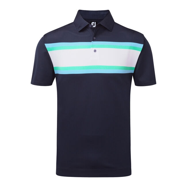 Stretch Pique All Colours Chest Stripe-Previous Season