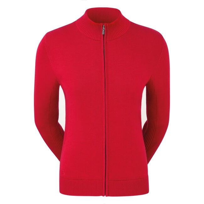 Full-Zip Lined Pullover Dam