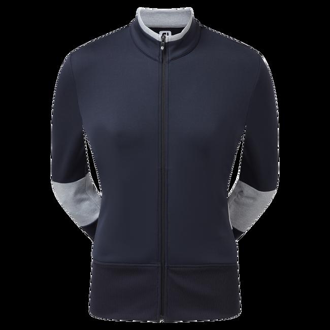 Jacke aus doppelflächigem Strick-Jersey