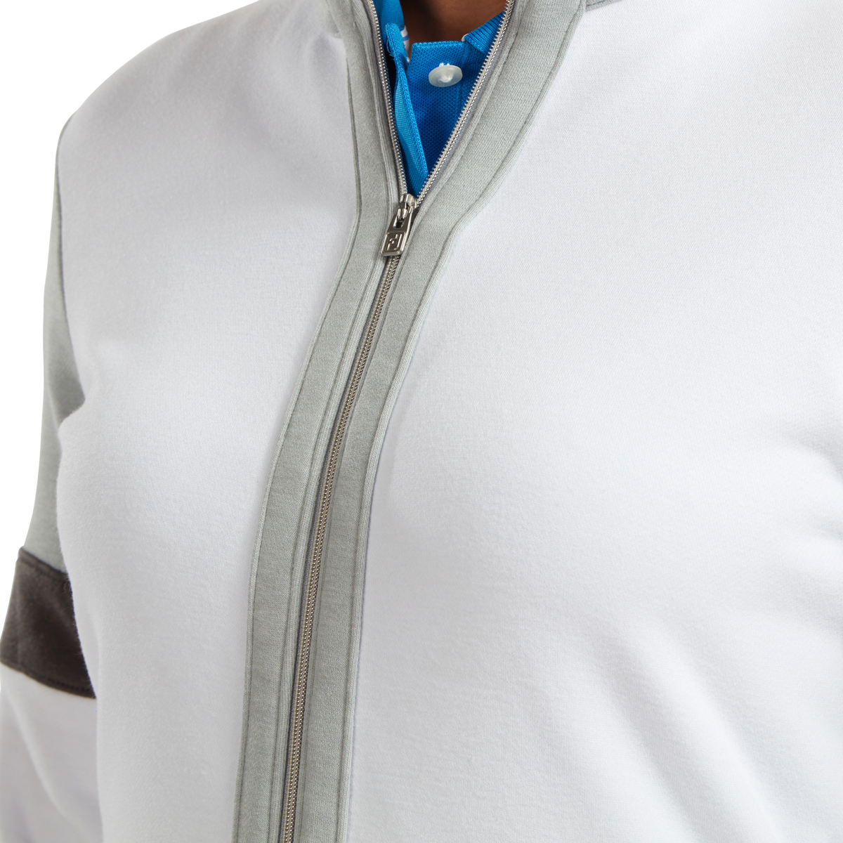 Women's Full-Zip Blocked Midlayer
